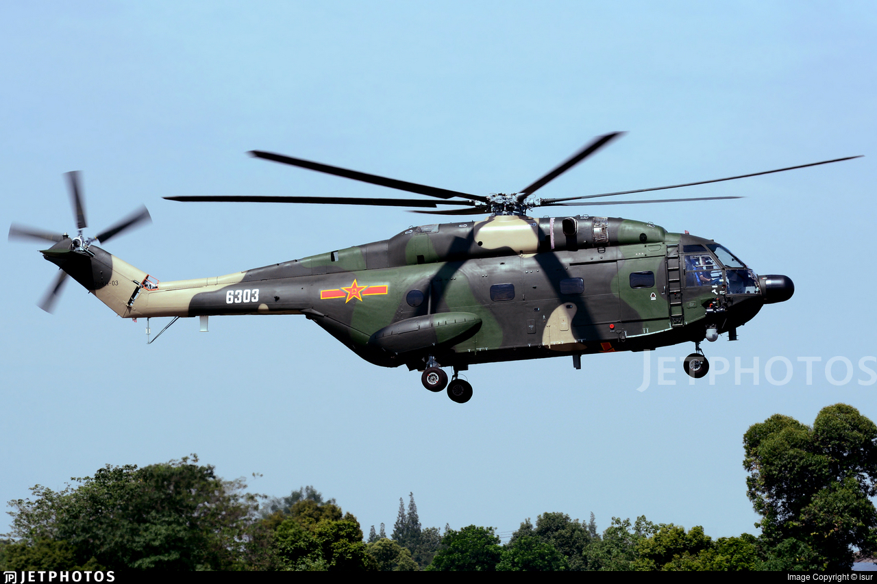 6303 - Changhe Z-8KH - China - Air Force