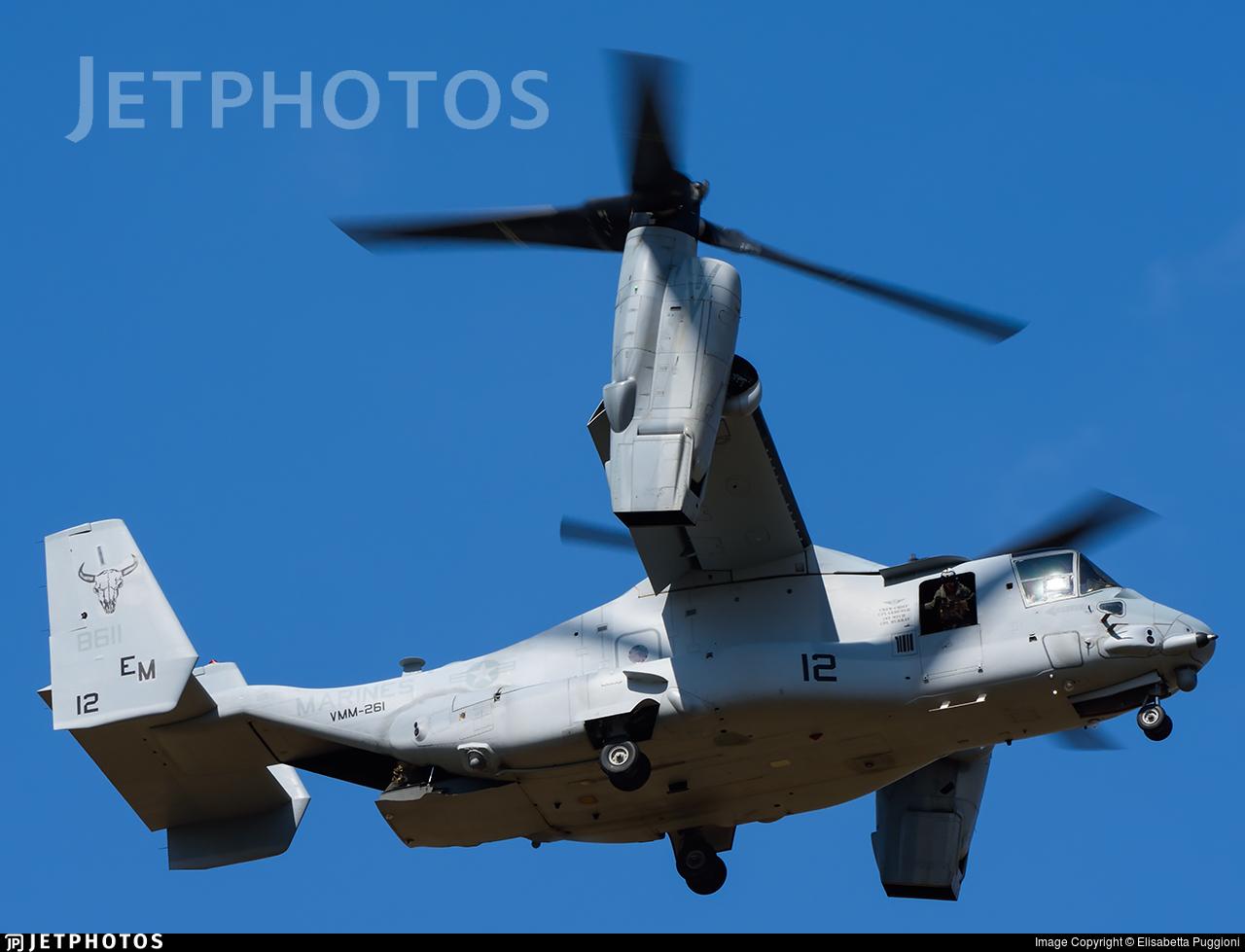 168611 - Boeing MV-22B Osprey - United States - US Marine Corps (USMC)