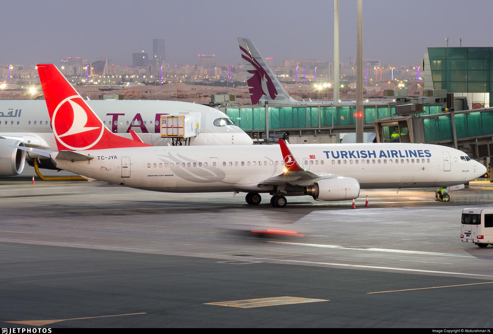TC-JYA - Boeing 737-9F2ER - Turkish Airlines