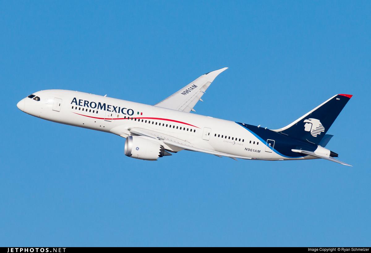 N961AM - Boeing 787-8 Dreamliner - Aeroméxico