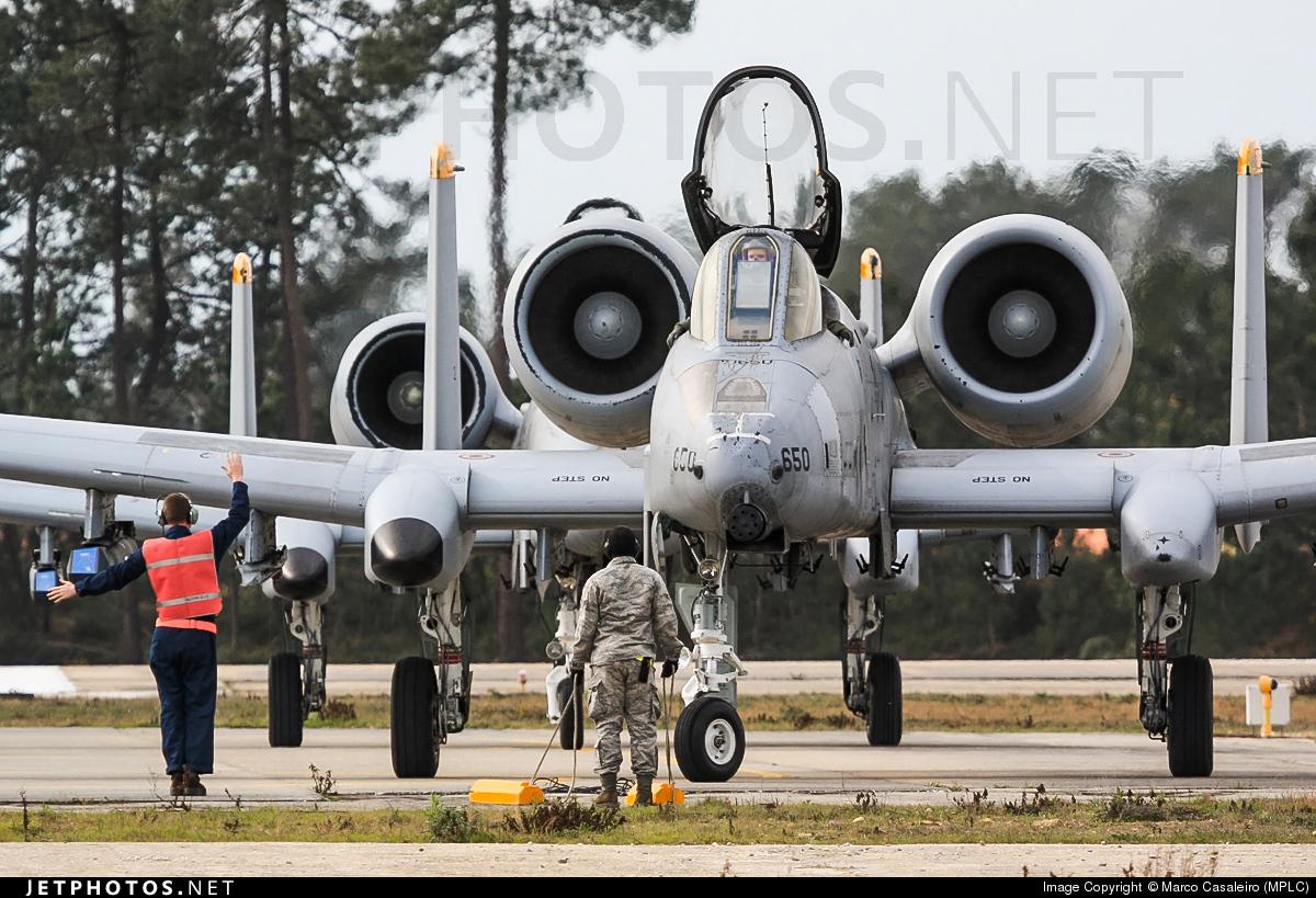 82-0650 - Fairchild A-10A Thunderbolt II - United States - US Air Force (USAF)