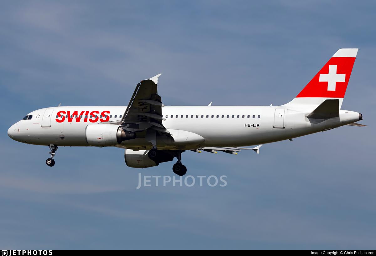 HB-IJR - Airbus A320-214 - Swiss