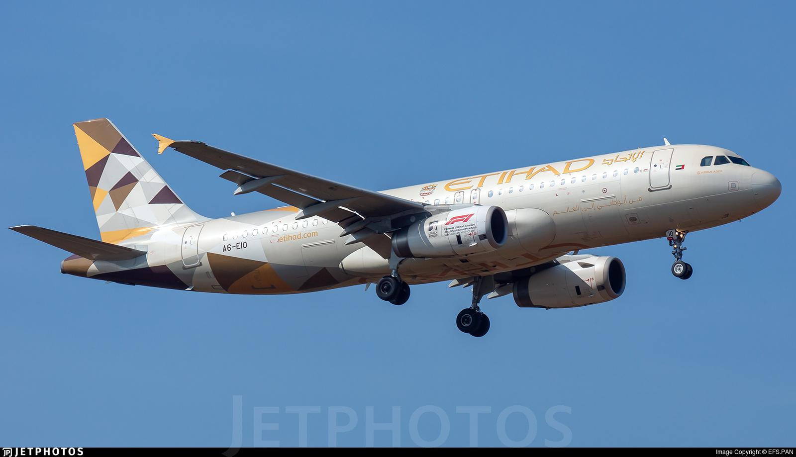 A6-EIO - Airbus A320-232 - Etihad Airways