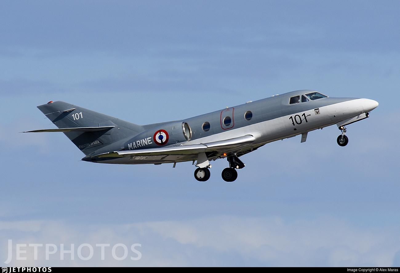 101 - Dassault Falcon 10MER - France - Navy