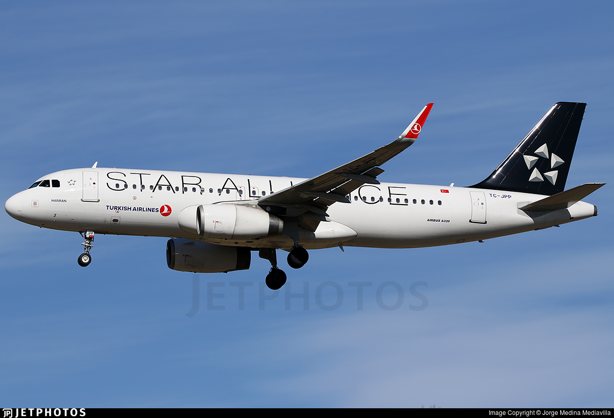 TC-JPP - Airbus A320-232 - Turkish Airlines