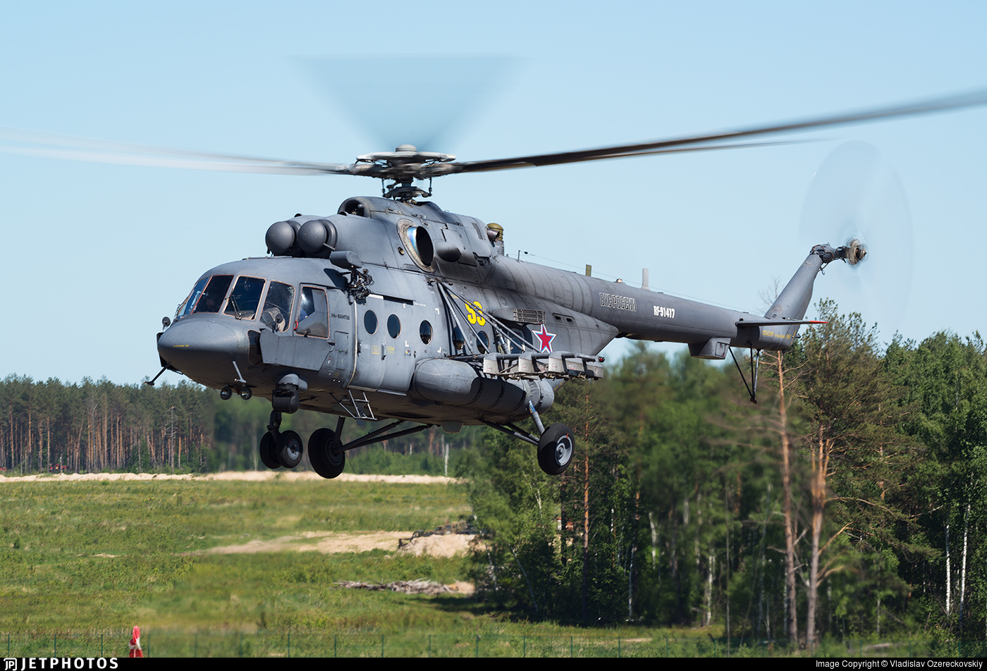 RF-91417 - Mil Mi-8AMTSh Hip - Russia - Air Force