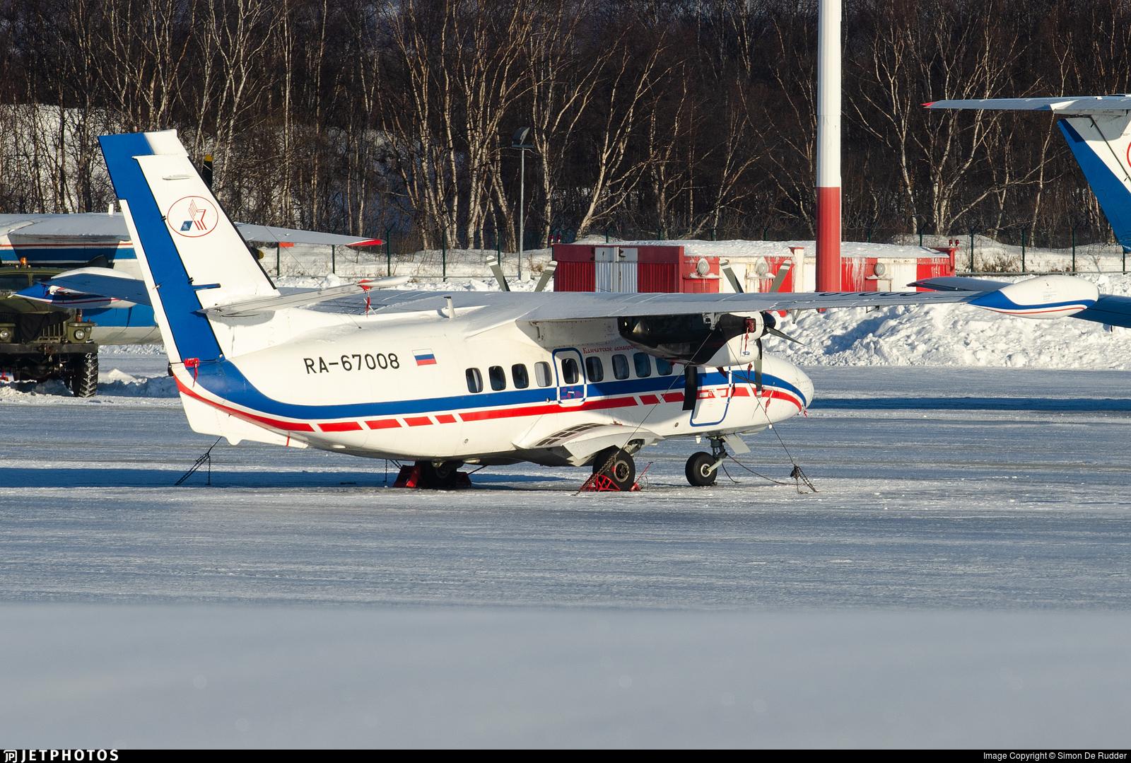 RA-67008 - Let L-410UVP-E20 Turbolet - Petropavlovsk-Kamchatskoe Aviation Enterprise