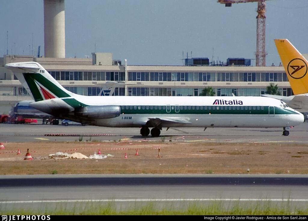 I-RIFM - McDonnell Douglas DC-9-32 - Alitalia