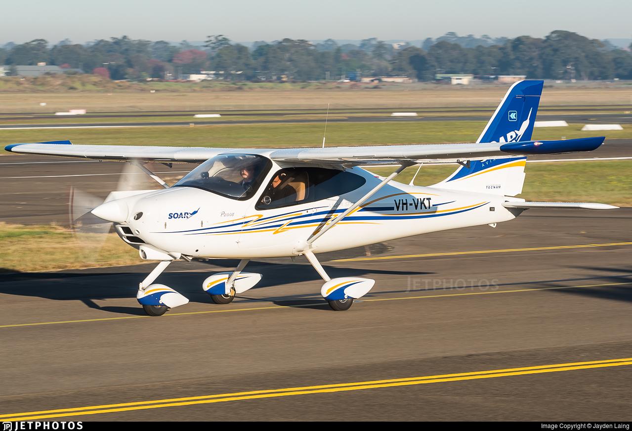 VH-VKT - Tecnam P2008 - Soar Aviation