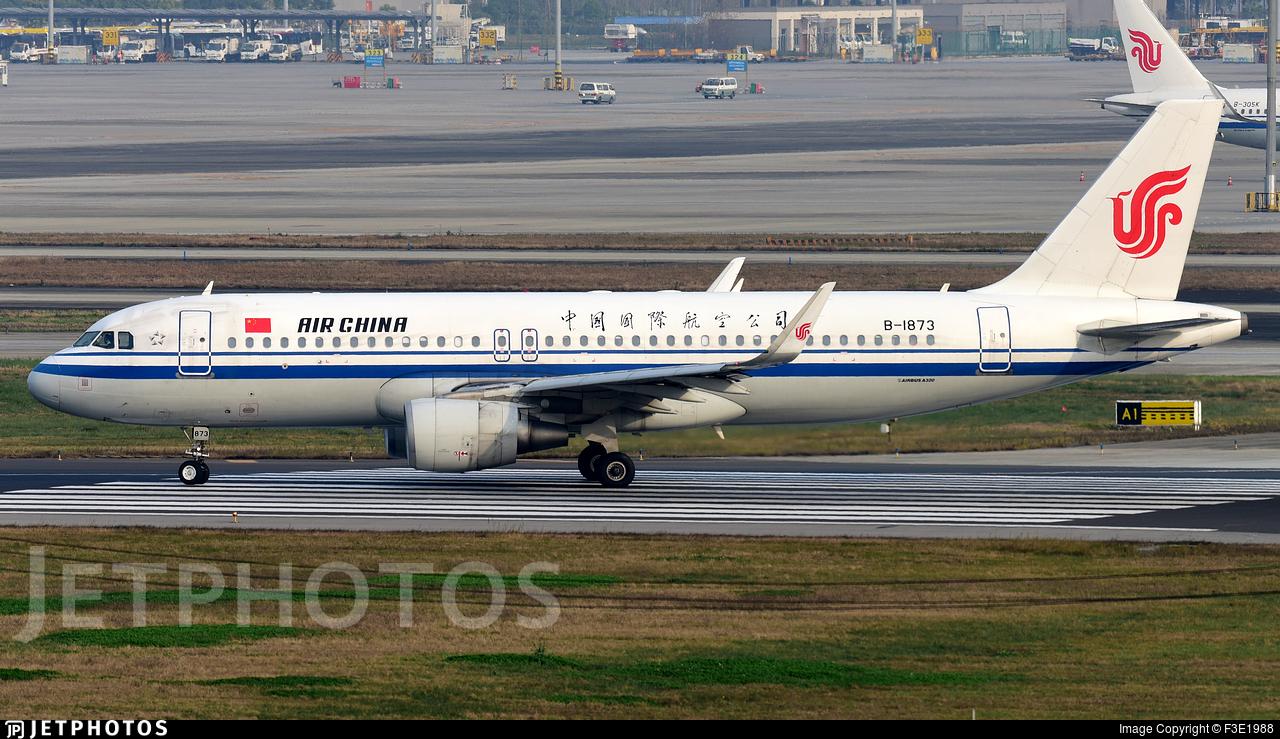 B-1873 - Airbus A320-214 - Air China
