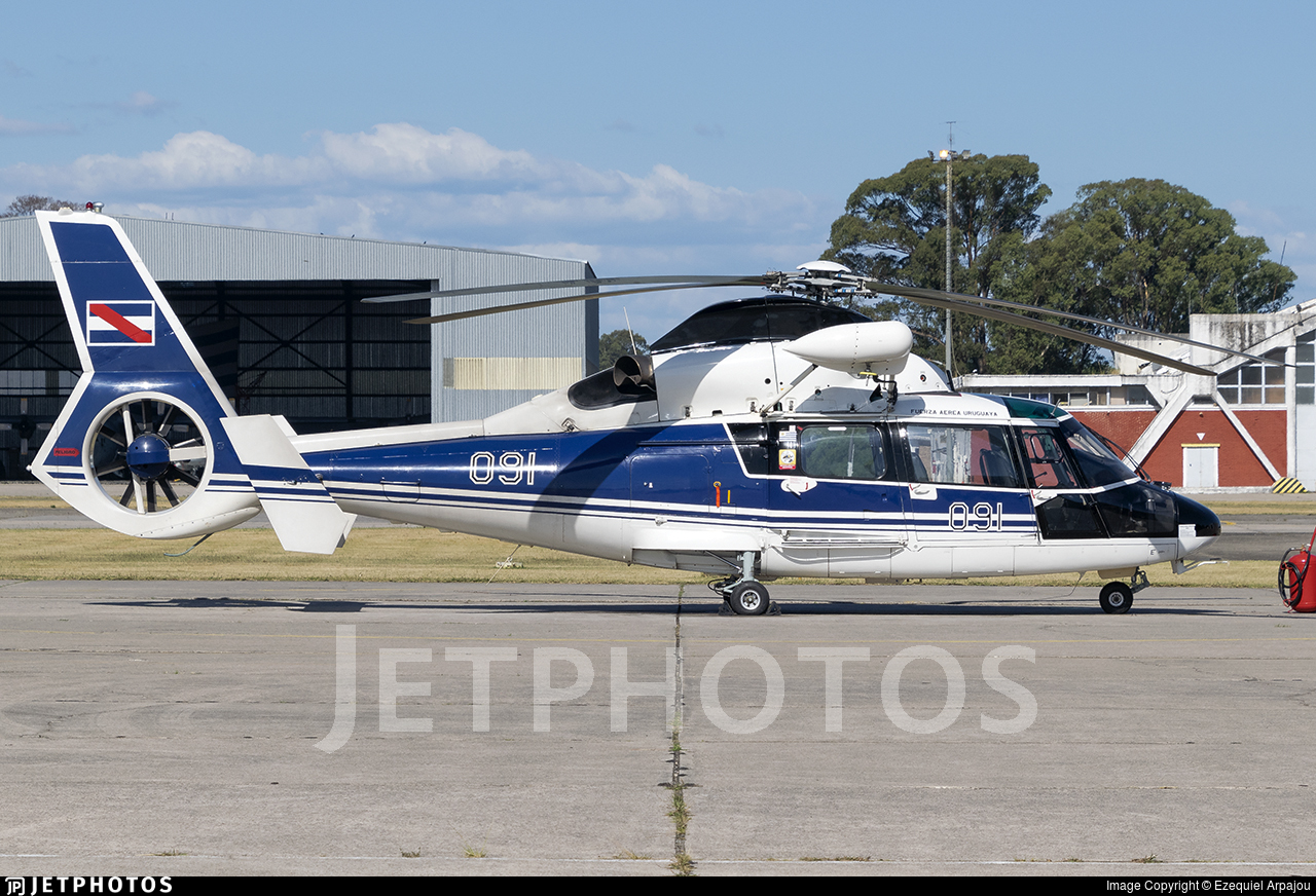 FAU091 - Airbus Helicopters AS365 N3+ Dauphin - Uruguay - Air Force