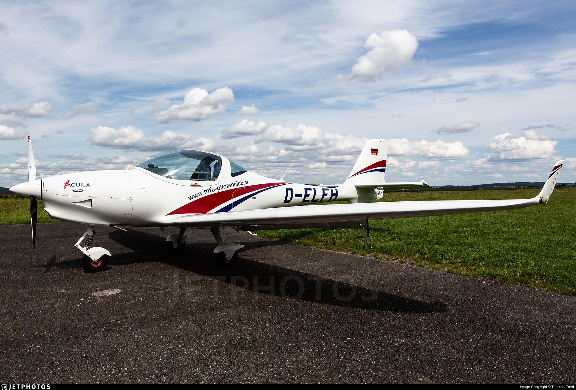 D-ELFH - Aquila A211GX - Motorflug Union (MFU)