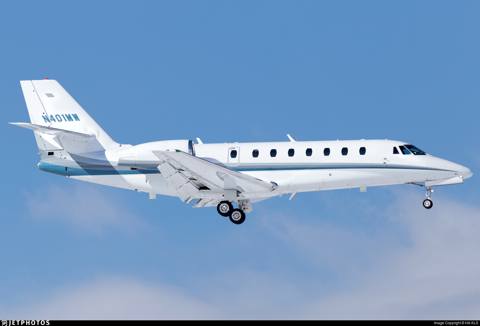 N401MW - Cessna 680 Citation Sovereign - Private