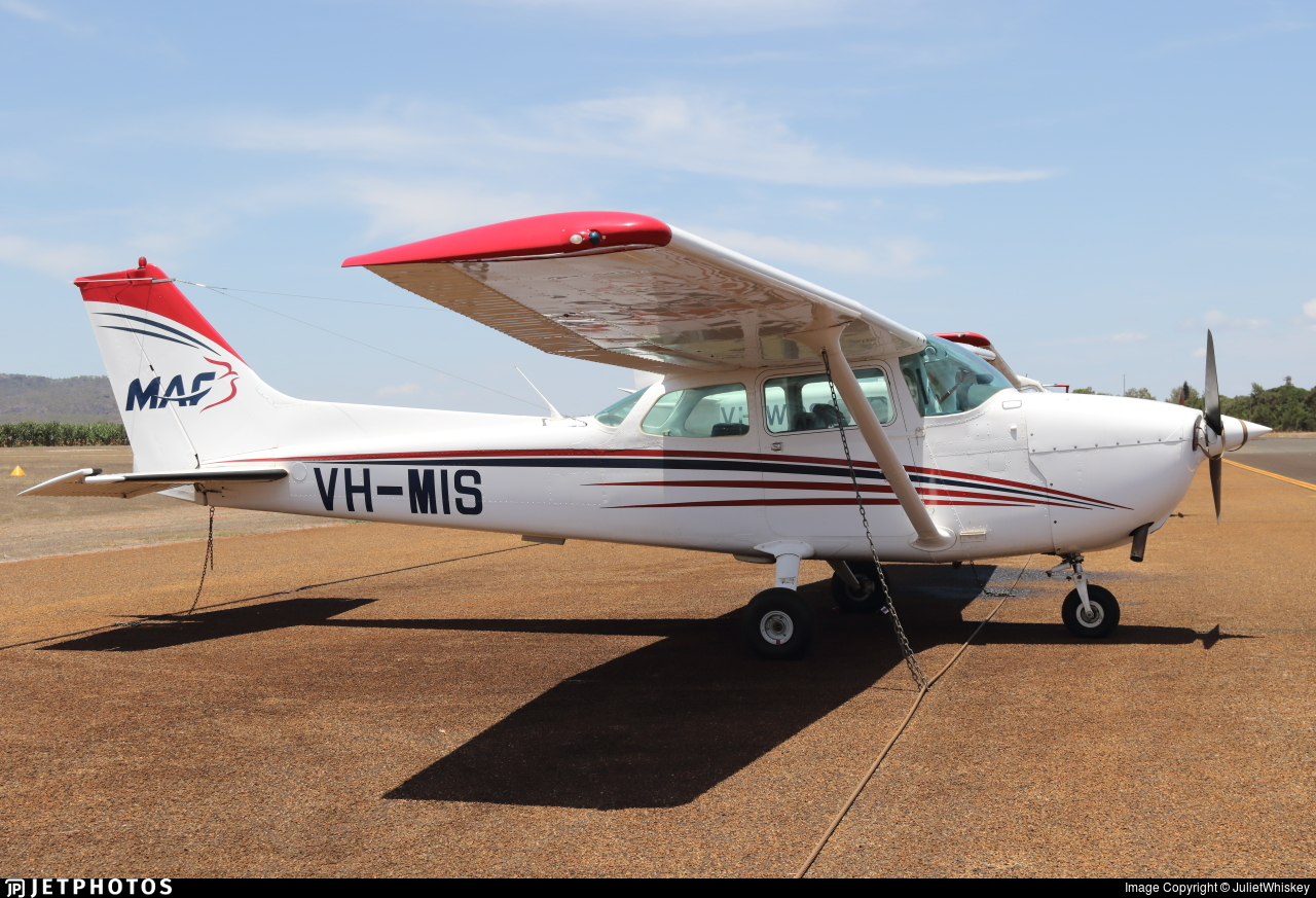 VH-MIS - Cessna 172N Skyhawk - Mission Aviation Fellowship