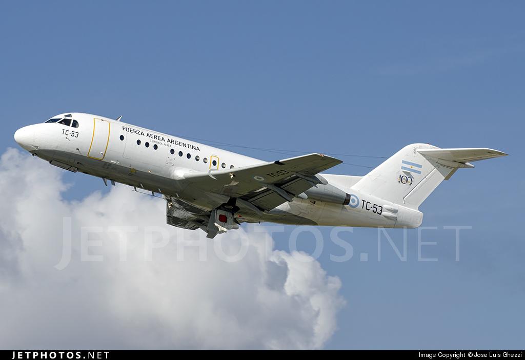 TC-53 - Fokker F28-1000C Fellowship - Argentina - Air Force