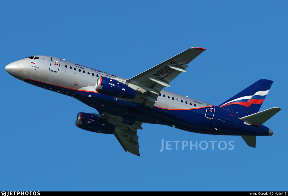 RA-89099 - Sukhoi Superjet 100-95B - Aeroflot