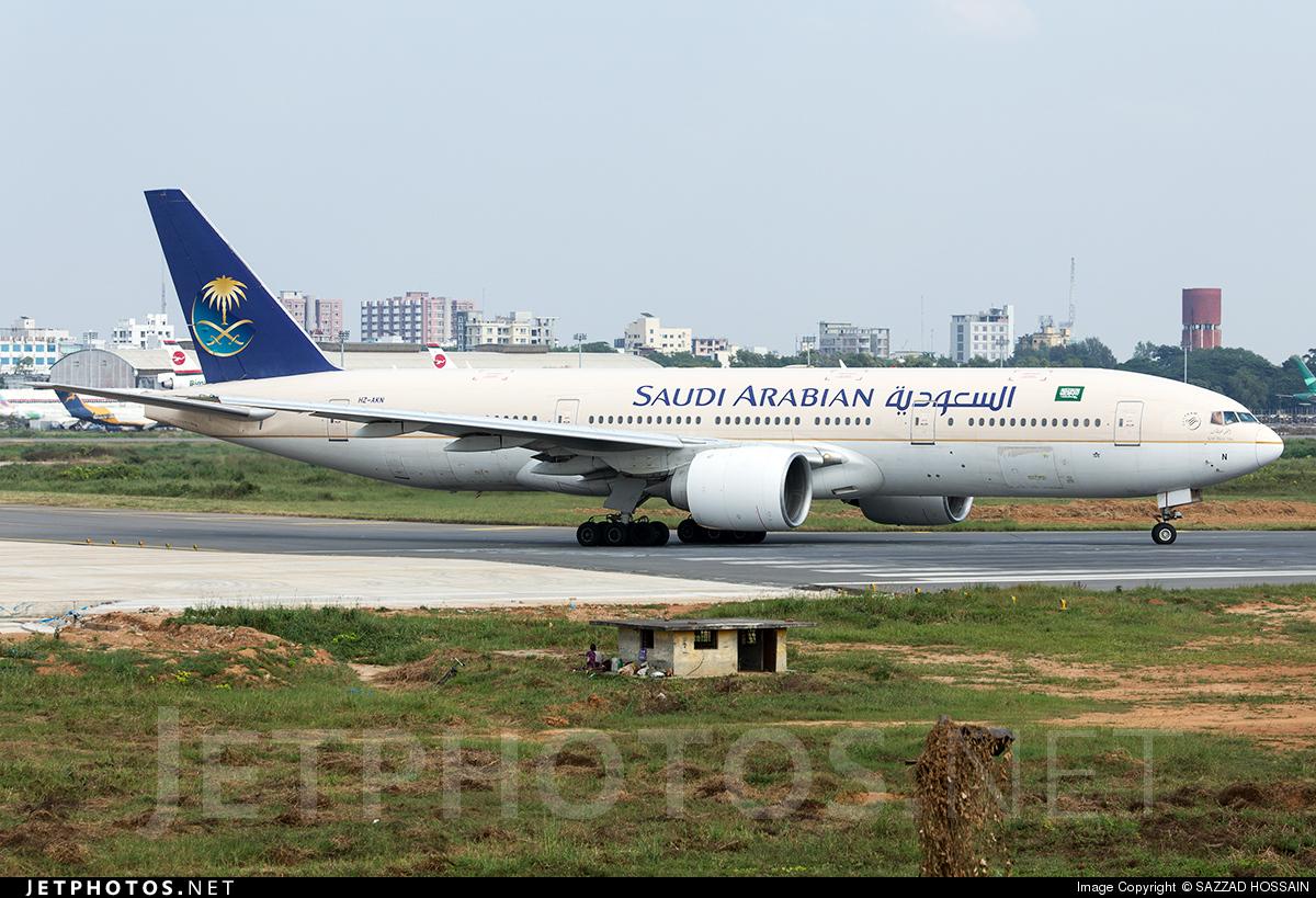 HZ-AKN - Boeing 777-268(ER) - Saudi Arabian Airlines