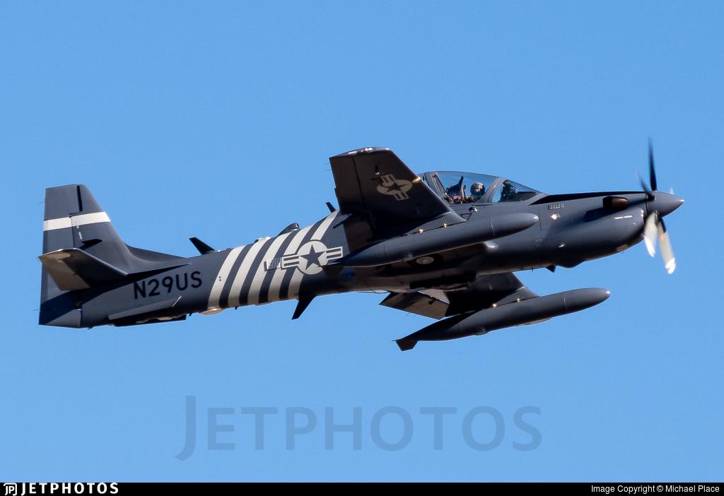 N29US - Embraer EMB-314 Super Tucano - Sierra Nevada Corporation