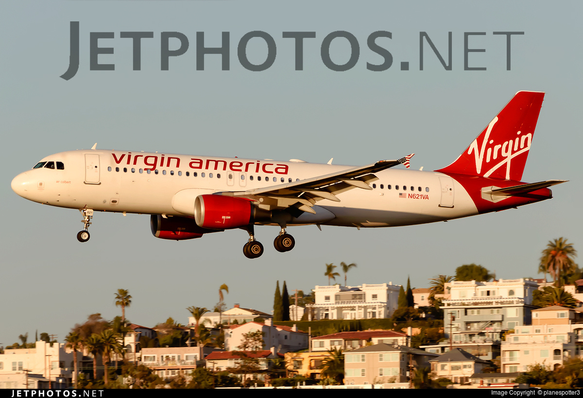 N621VA - Airbus A320-214 - Virgin America