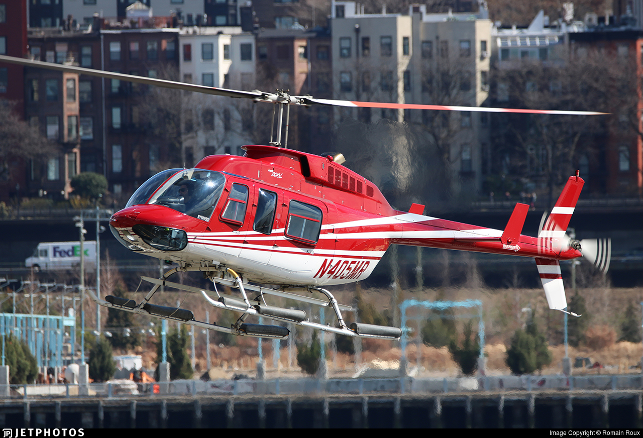 N405MR - Bell 206L-4 LongRanger - Private