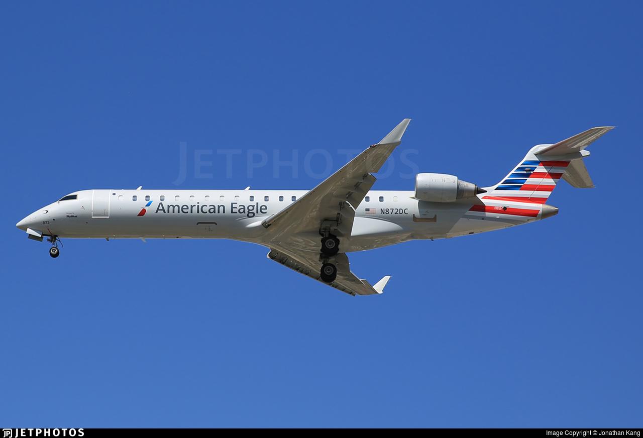 N872DC - Bombardier CRJ-701ER - American Eagle (SkyWest Airlines)