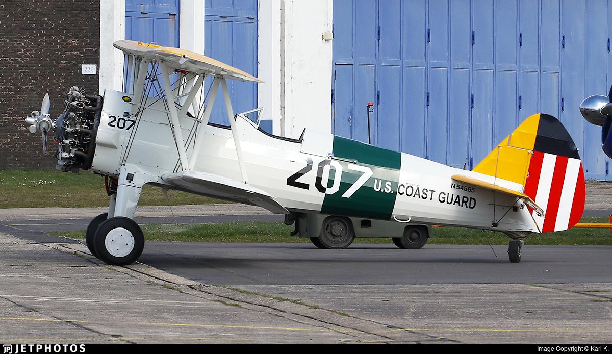 N54565 - Boeing A75N1 Stearman - Private