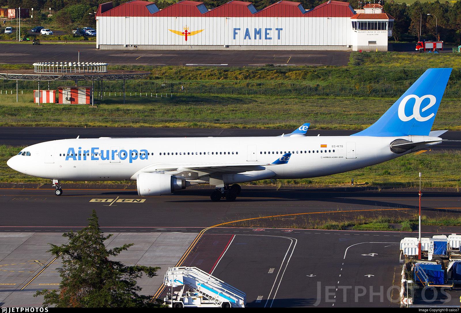 EC-KTG - Airbus A330-202 - Air Europa