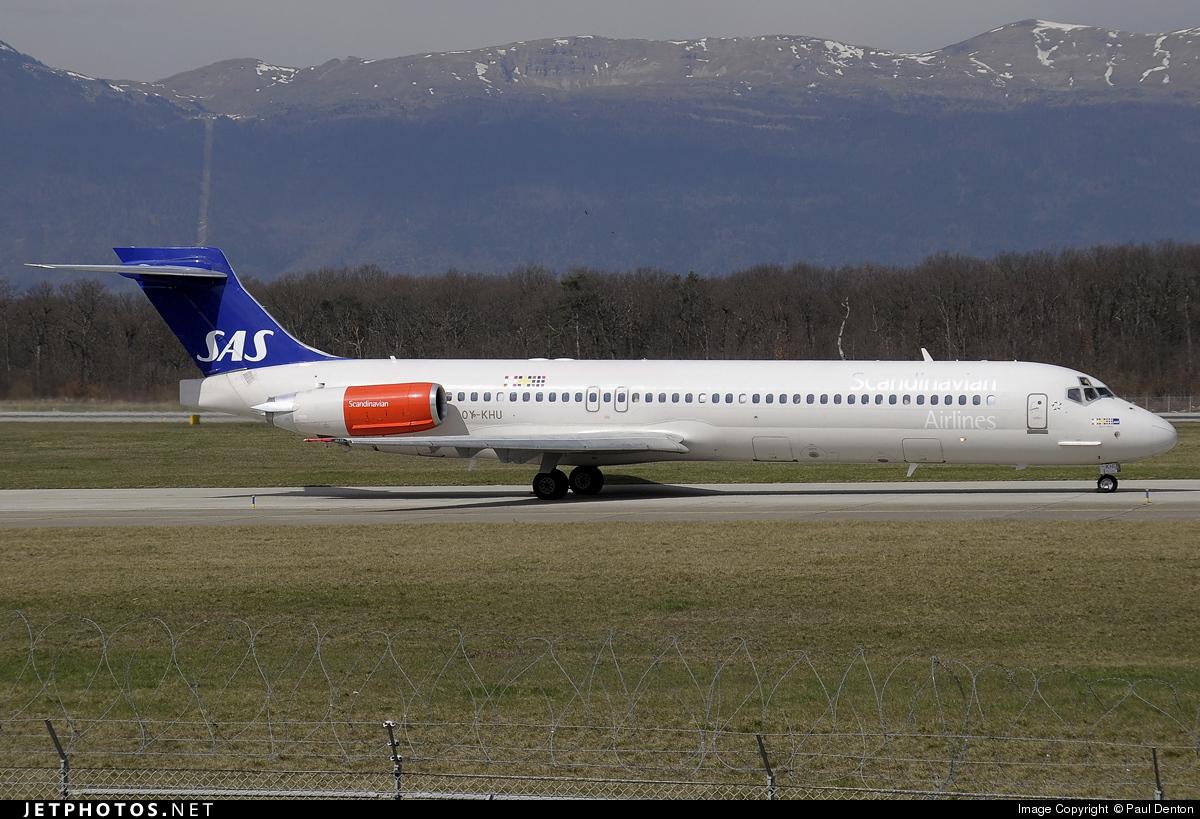 OY-KHU - McDonnell Douglas MD-87 - Scandinavian Airlines (SAS)