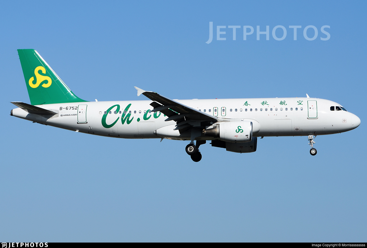 B-6752 - Airbus A320-214 - Spring Airlines