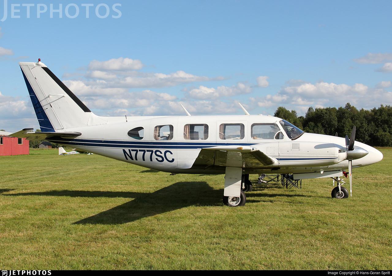 N777SC - Piper PA-31-310 Navajo - Private