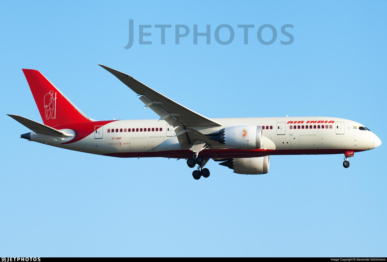 VT-ANP - Boeing 787-8 Dreamliner - Air India
