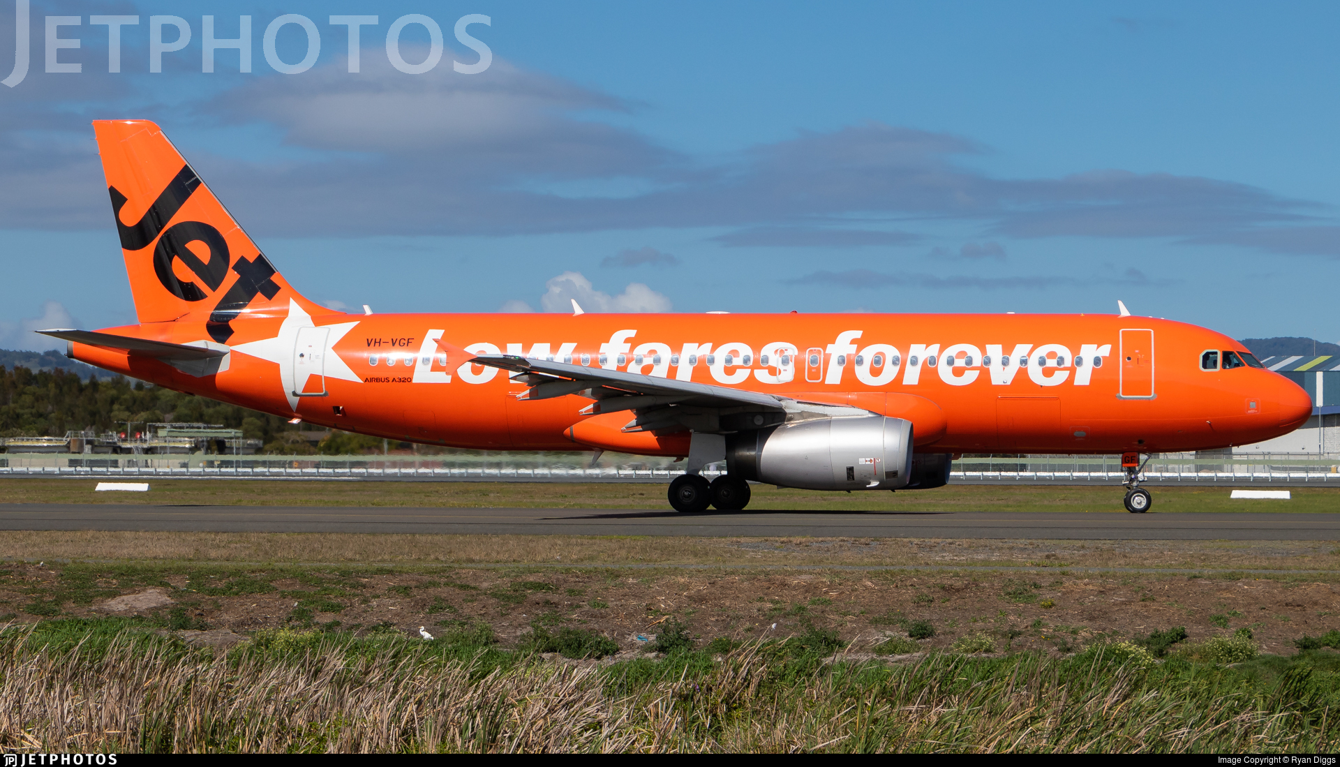 VH-VGF - Airbus A320-232 - Jetstar Airways