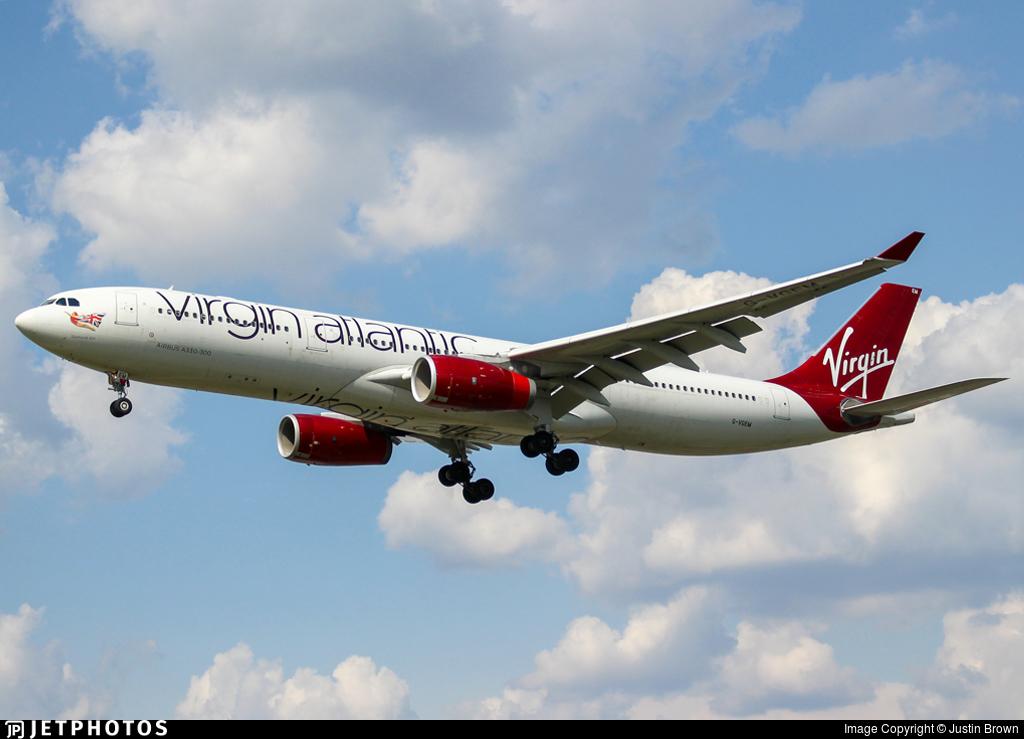 G-VGEM - Airbus A330-343 - Virgin Atlantic Airways