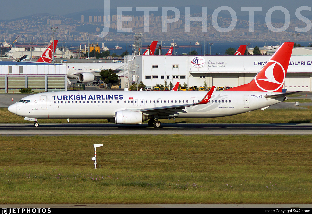 TC-JYB - Boeing 737-9F2ER - Turkish Airlines