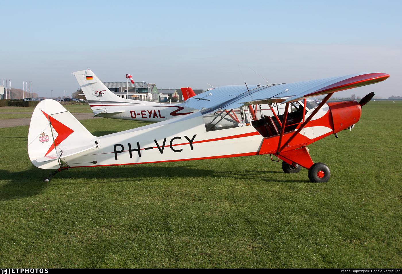 PH-VCY - Piper PA-18-95 Super Cub - Vliegclub Hoevenen