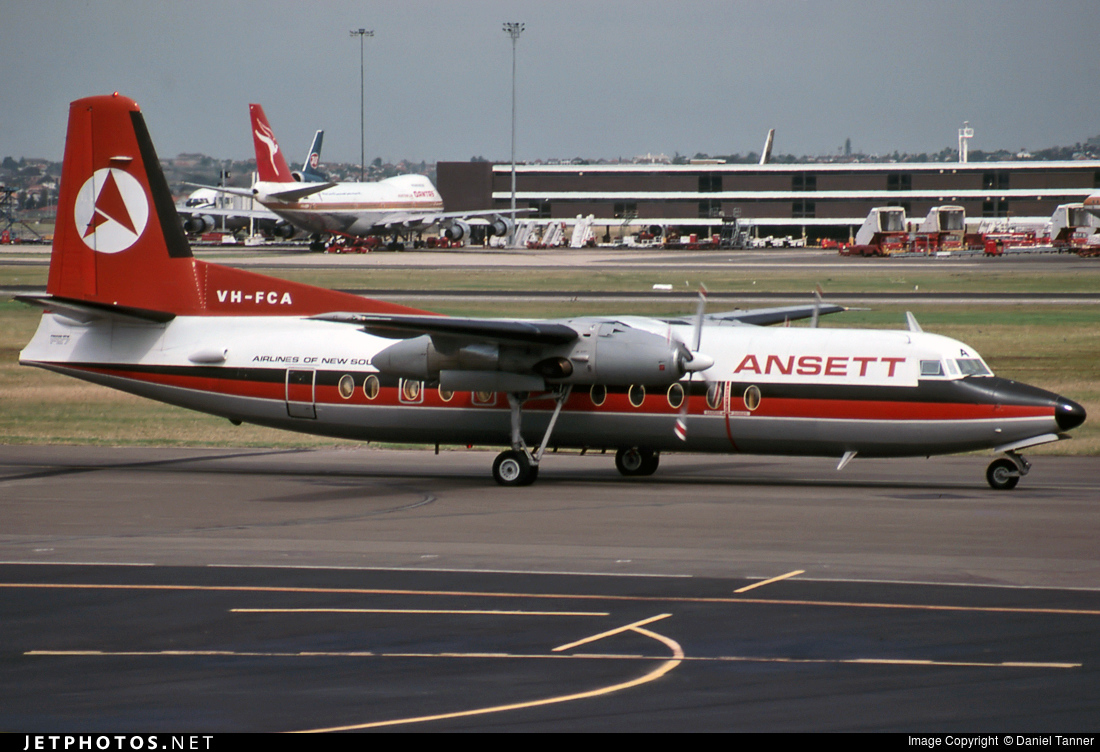 VH-FCA - Fokker F27-500F Friendship - Air New South Wales