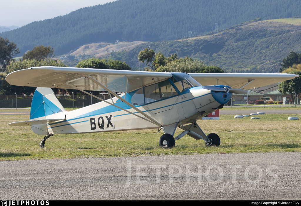 ZK-BQX - Piper PA-18 Super Cub - Private