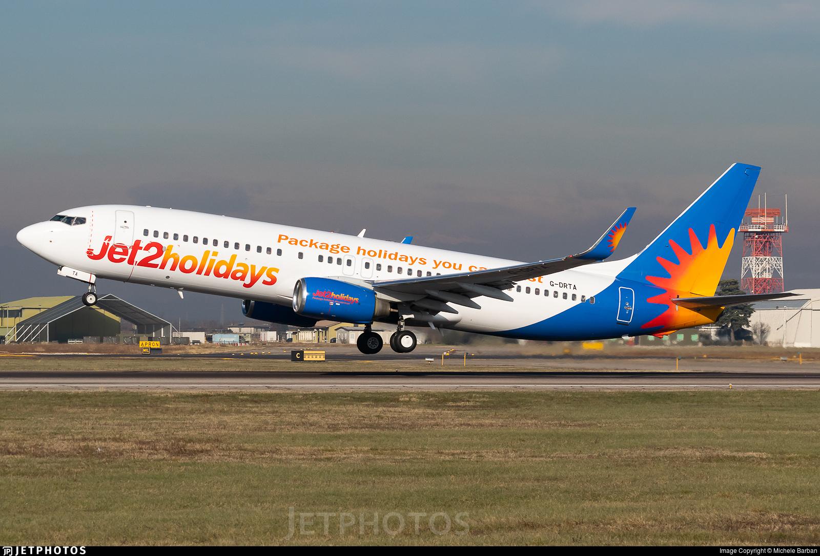 G-DRTA - Boeing 737-85P - Jet2.com