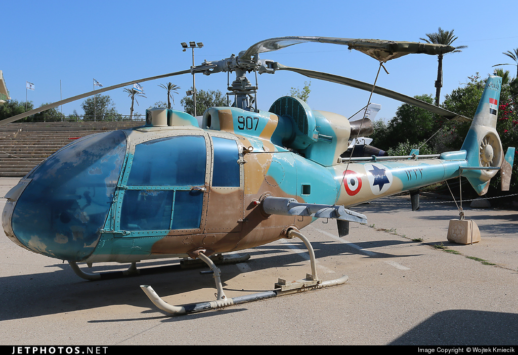 907 - Aérospatiale SA 342L Gazelle - Israel - Air Force