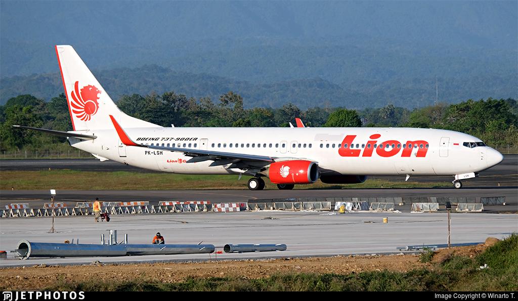 PK-LSH - Boeing 737-9GPER - Lion Air