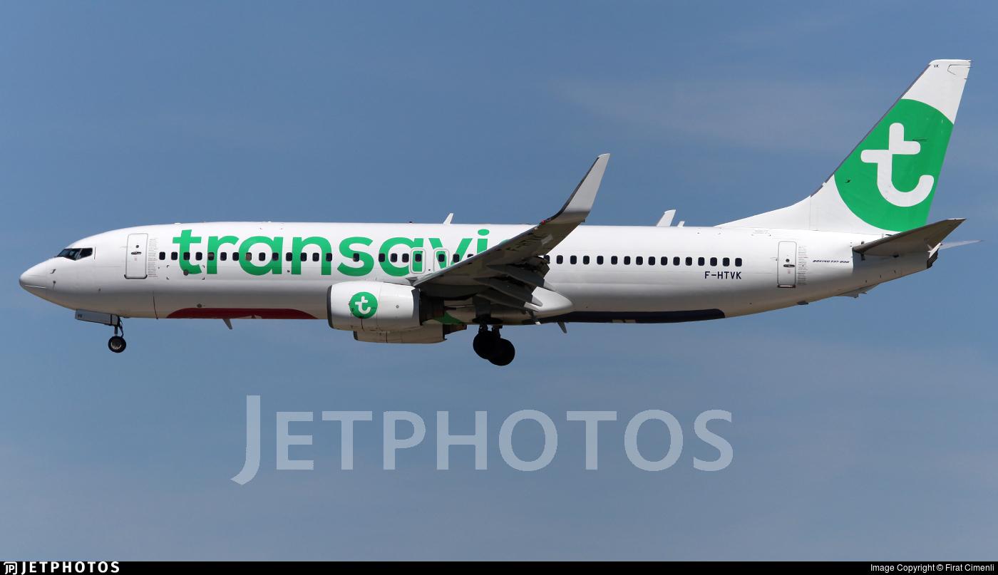 F-HTVK - Boeing 737-84P - Transavia France