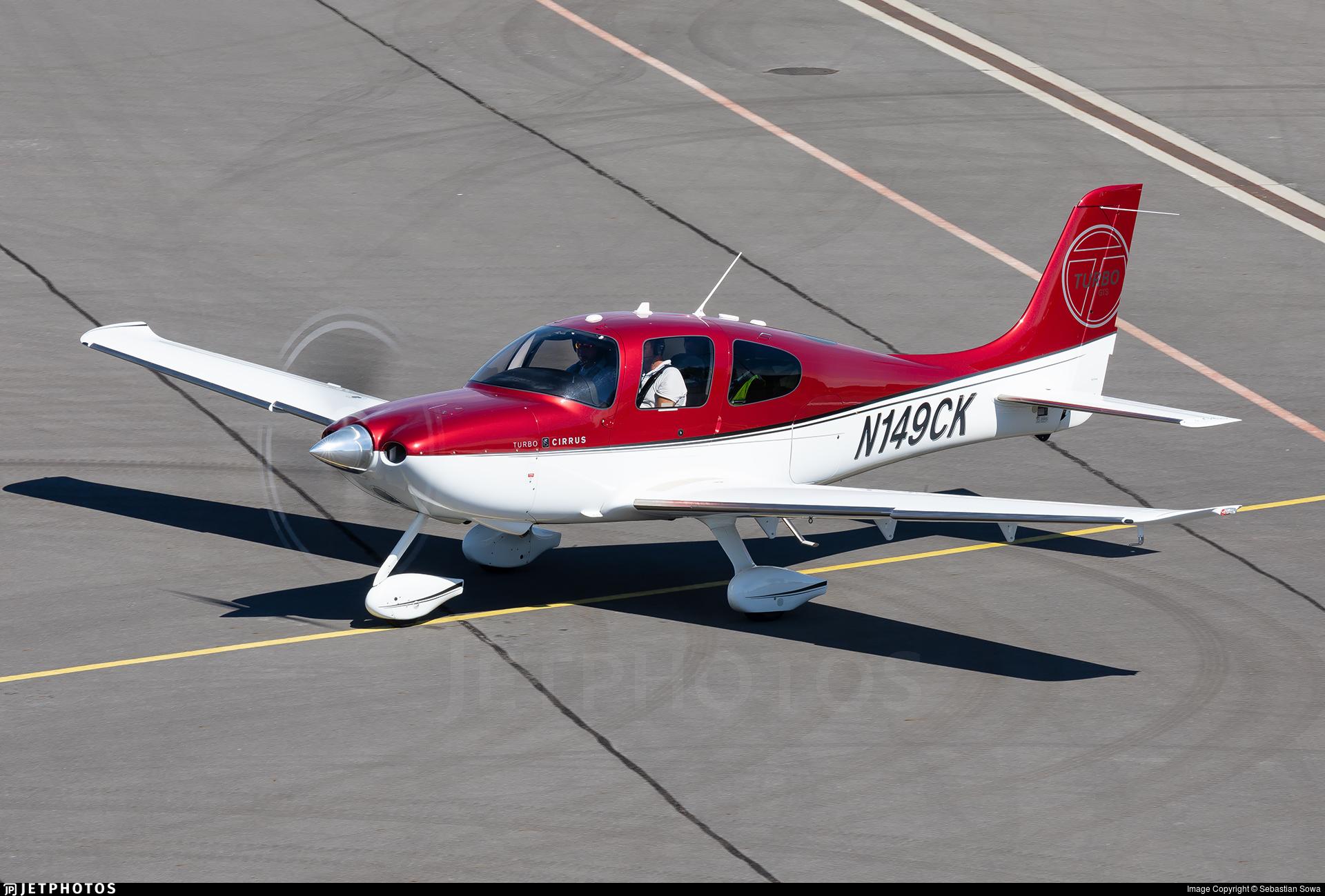 N149CK - Cirrus SR22-GTS Turbo - Private
