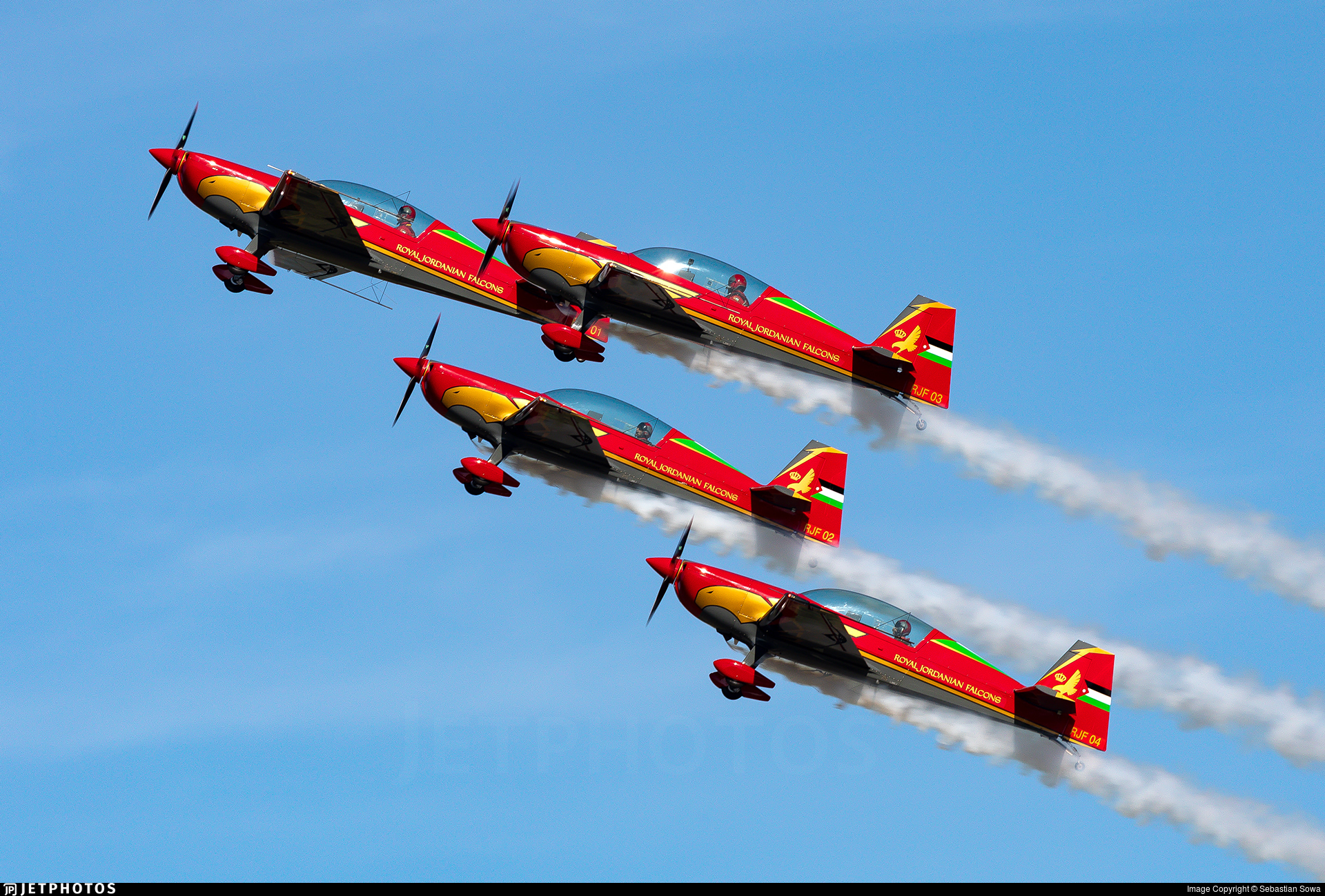 RJF 03 - Extra 330LX - Royal Jordanian Falcons