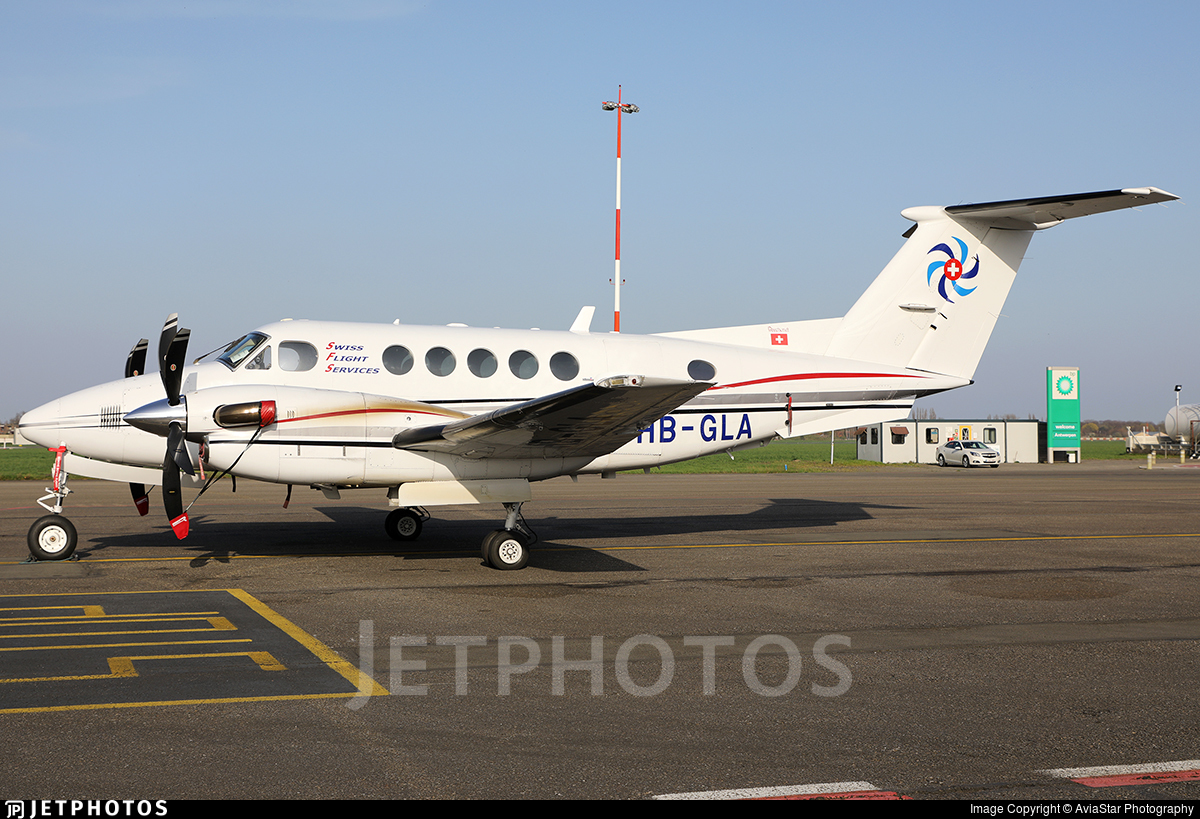 HB-GLA - Beechcraft B200 Super King Air - Swiss Flight Services (SFS)