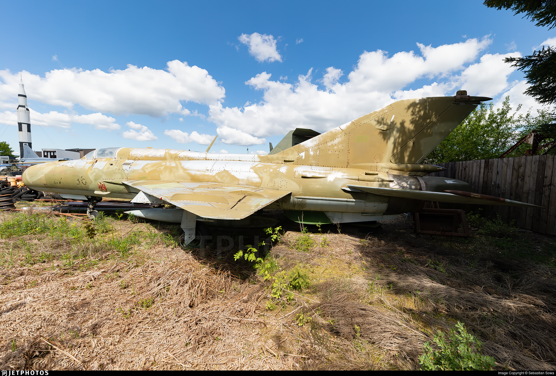 22-36 - Mikoyan-Gurevich MiG-21SPS Fishbed F - Germany - Air Force
