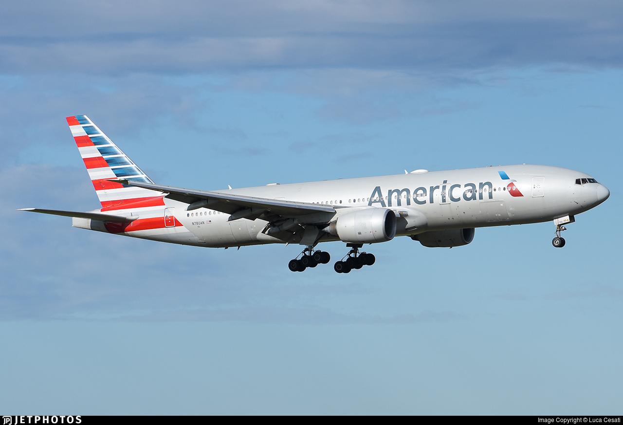 N780AN - Boeing 777-223(ER) - American Airlines