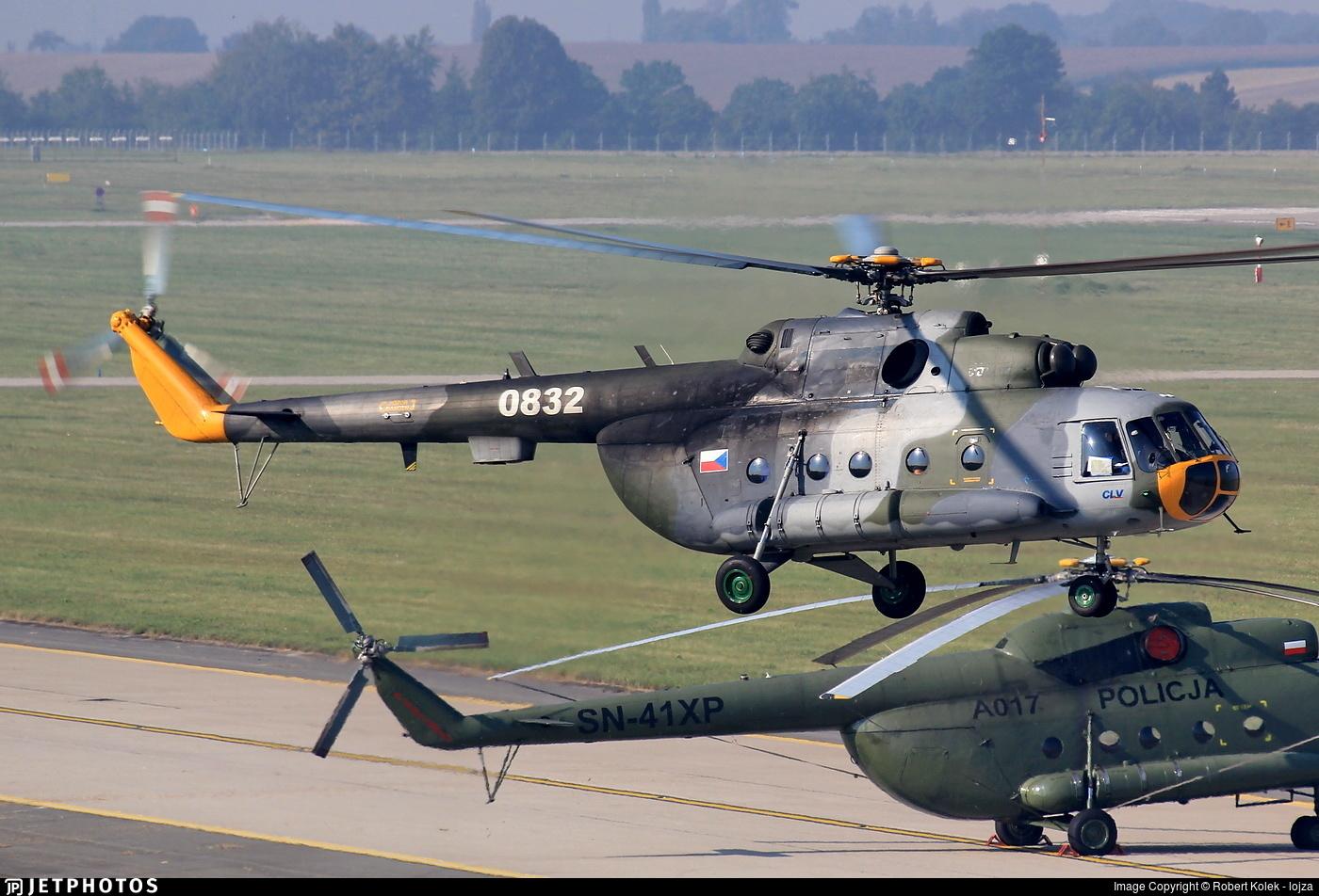 0832 - Mil Mi-17 Hip - Czech Republic - Air Force