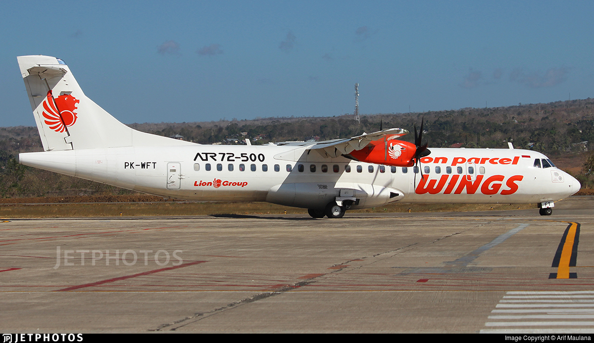 PK-WFT - ATR 72-212A(500) - Wings Air