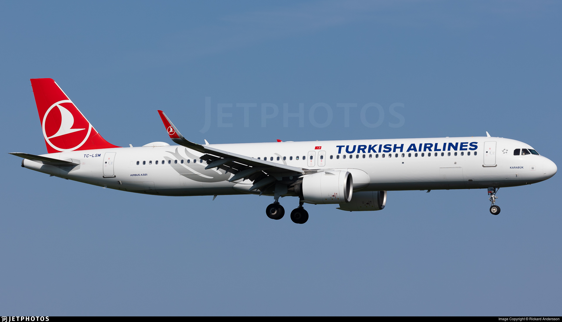 TC-LSM - Airbus A321-271NX - Turkish Airlines