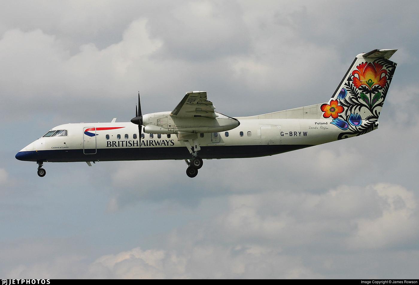 G-BRYW - Bombardier Dash 8-Q311 - British Airways (CityFlyer Express)